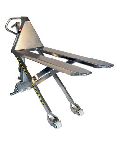 Stainless High Lift Pallet Trucks