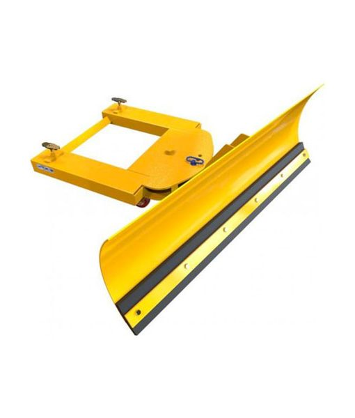 Used Forklift Snow Blades : Forklift snow plough adjustable blade sublift limited